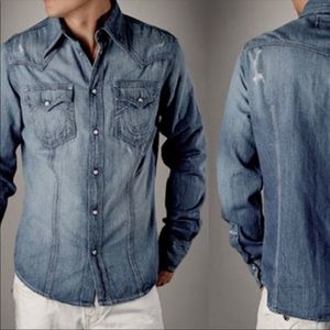 New Authentic True Religion Jeans signature shirt
